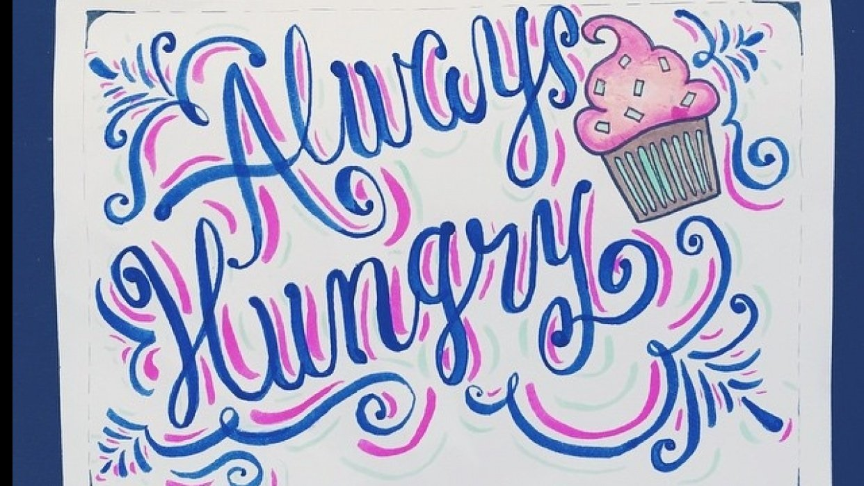 Always Hungry - student project
