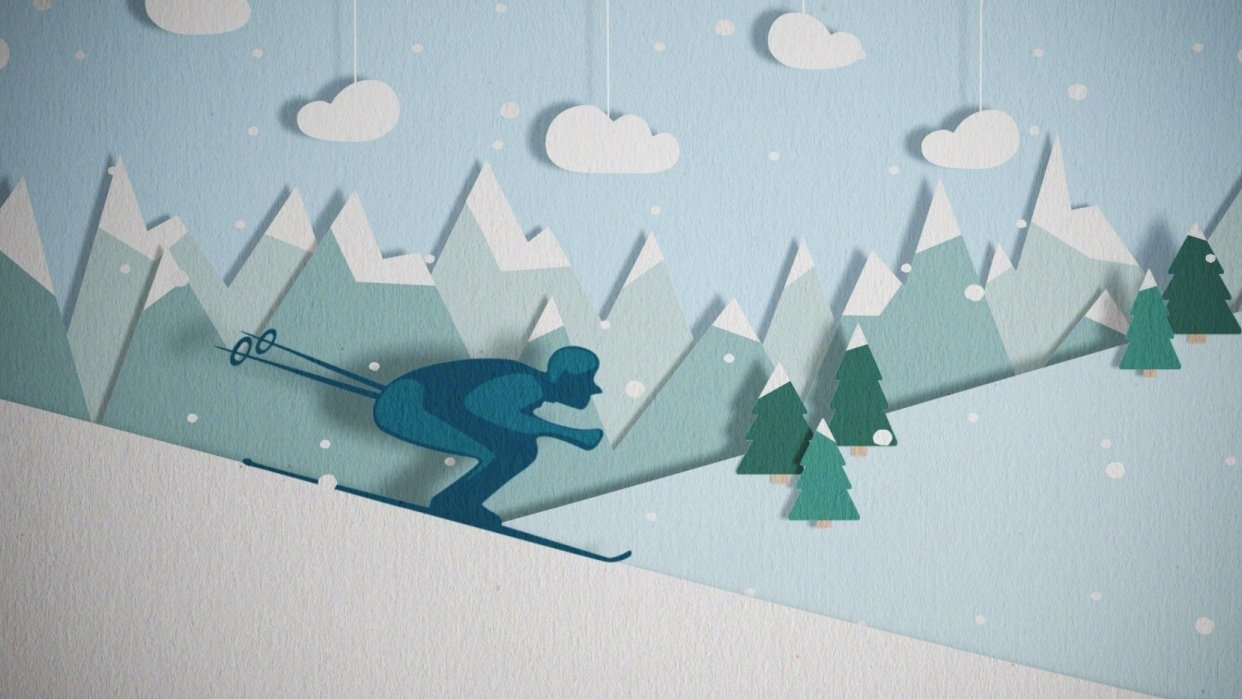 Let's go skiing! - student project