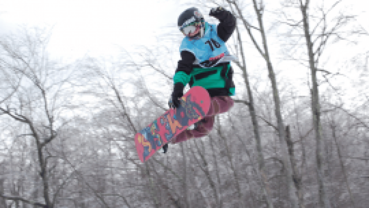Sam's Snowboard Career - student project