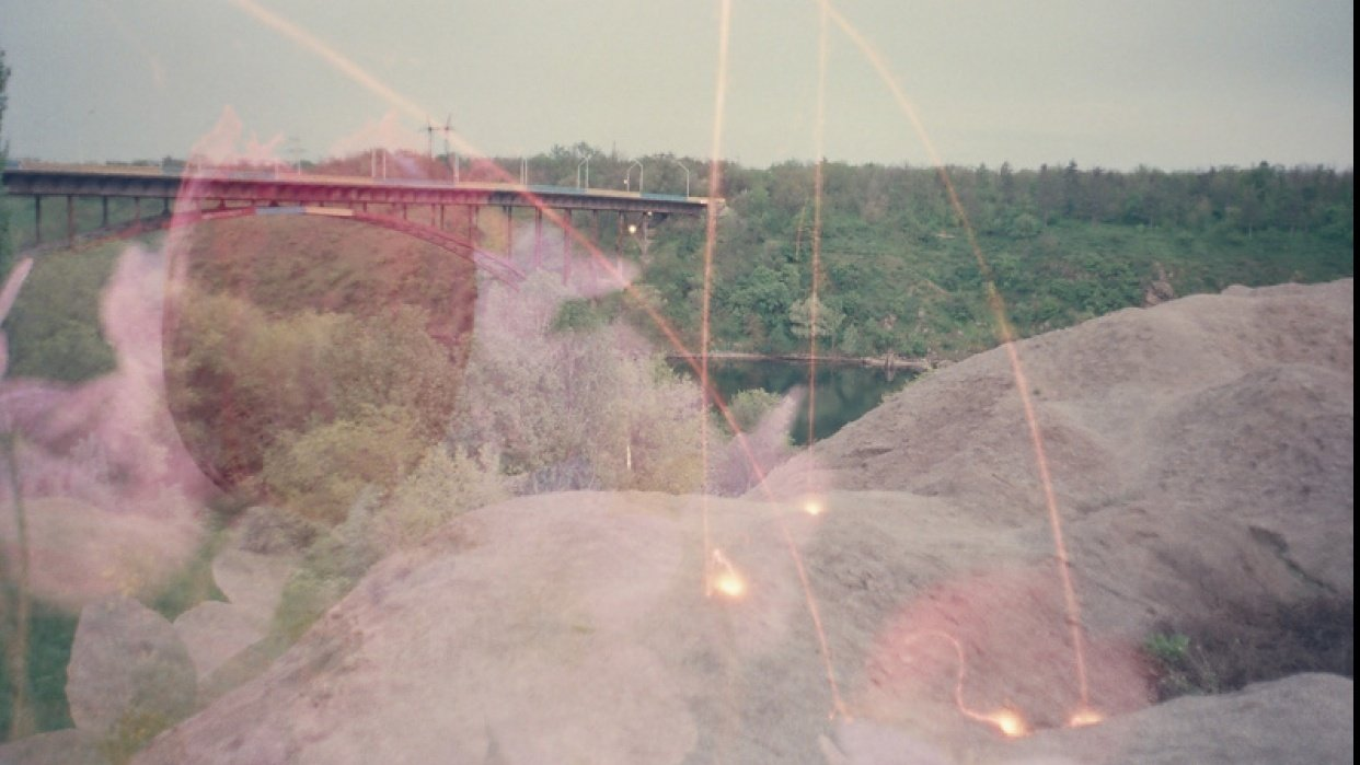 Multiple and long exposures with my friend - student project