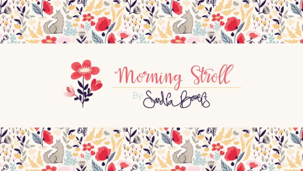 Morning Stroll Pattern Collection - student project