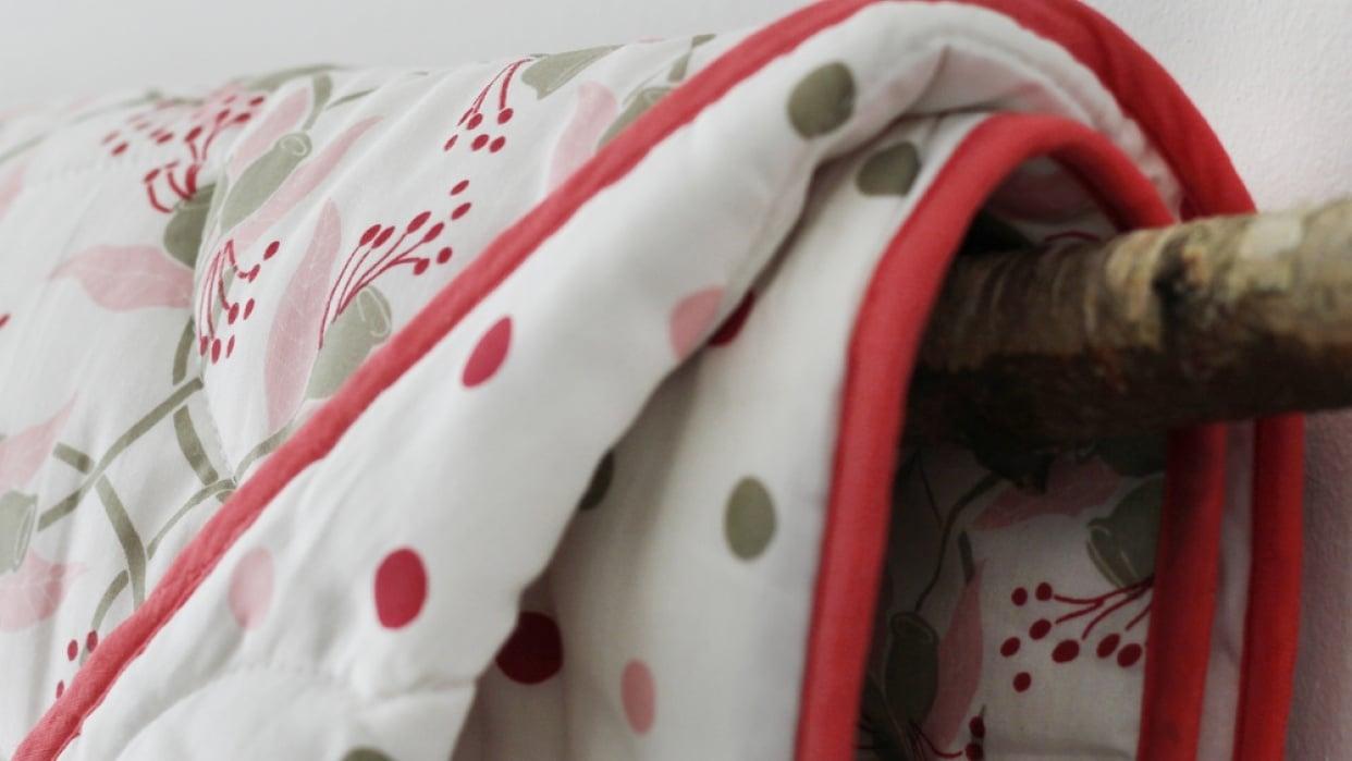 Mockingbird Street - organic baby bedding - student project