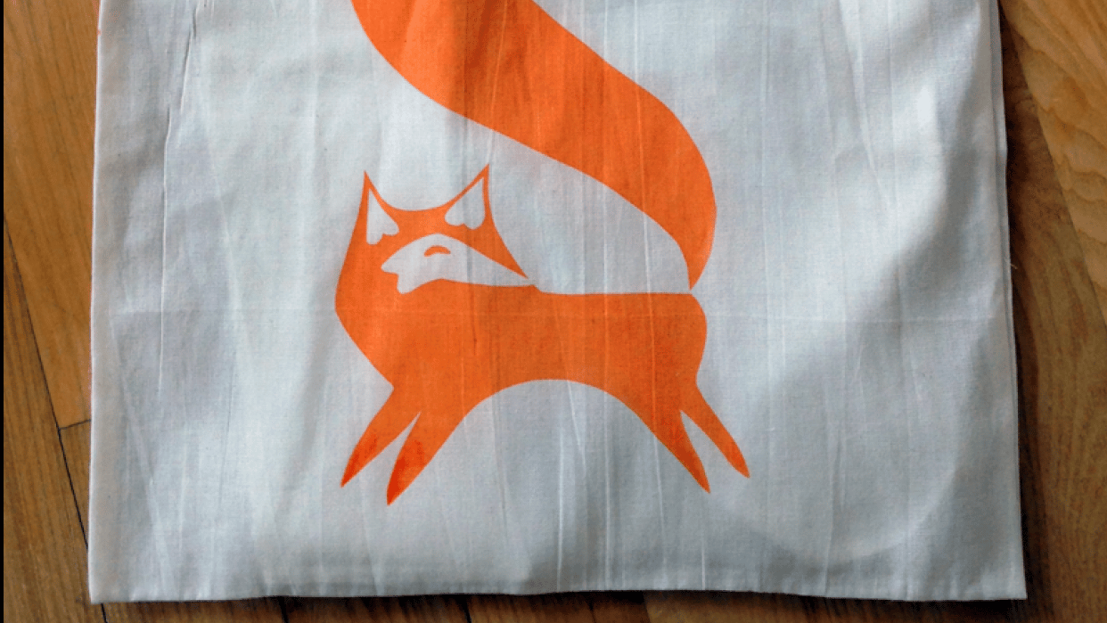 My Foxy Tote Bag - student project