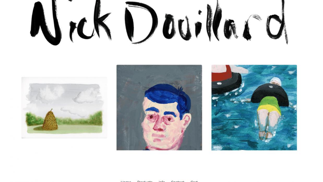 Nick Douillard Fine Art - student project