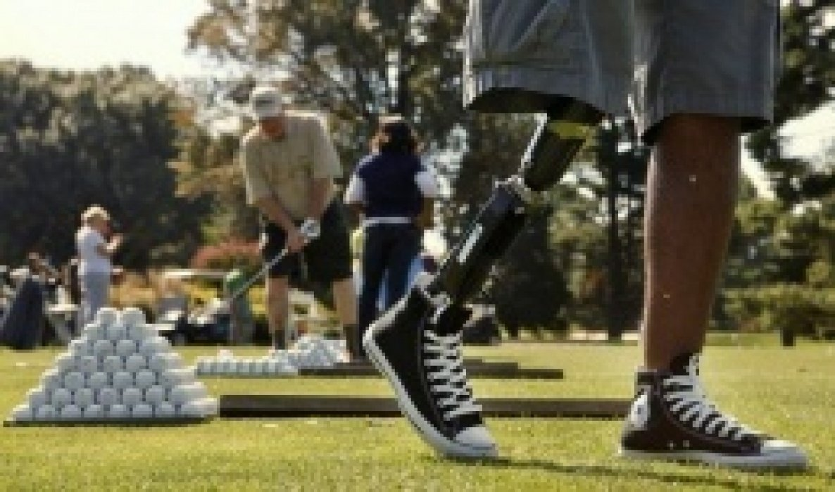 Wounded Warrior Golf Clinic - student project