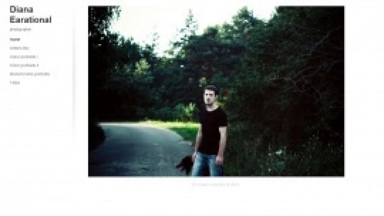 Photography Portfolio - student project