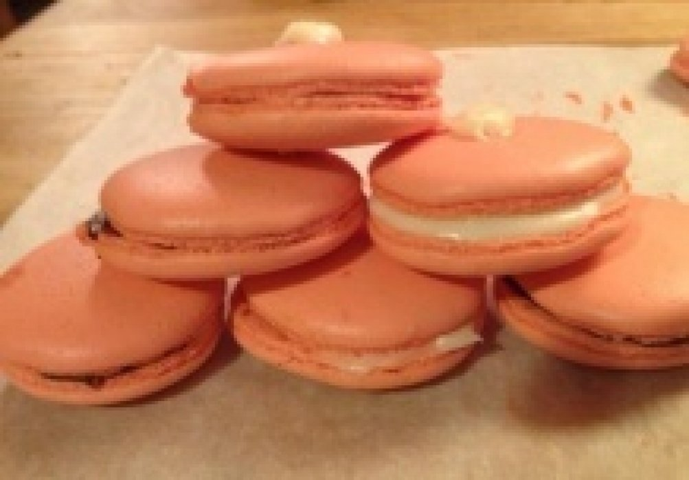 Macarons :) - student project