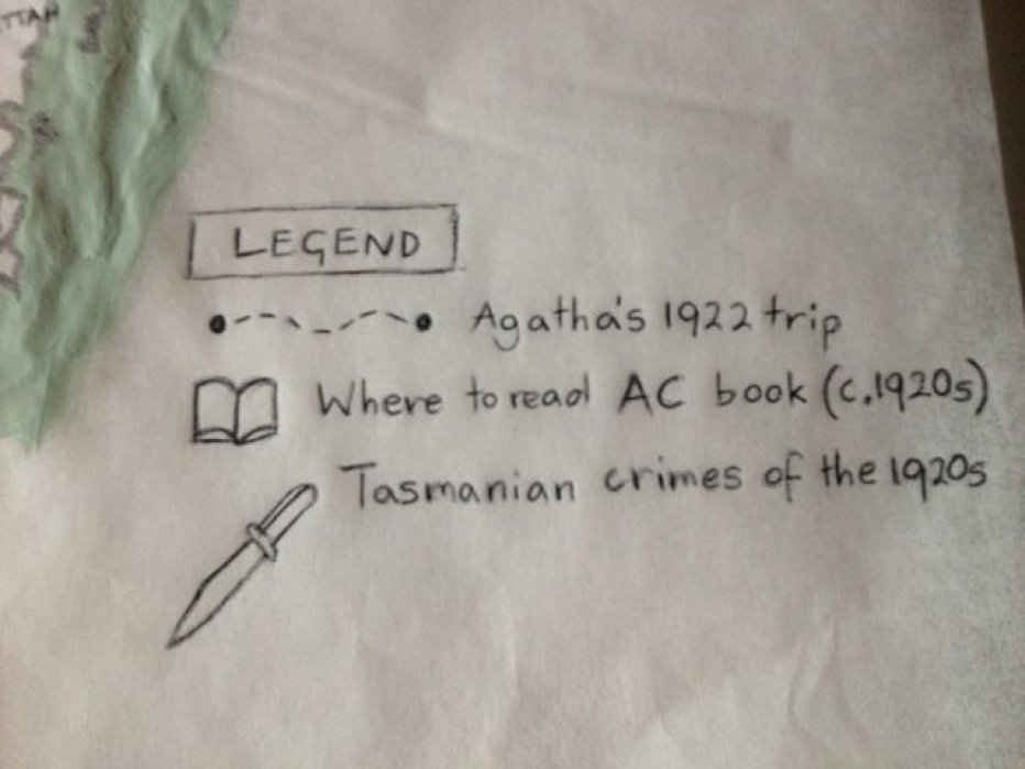 Agatha Christie's Tasmania: from 1922 to 2.0! - student project