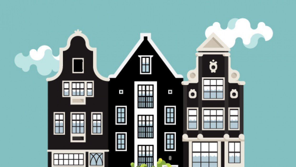 Houses of Amsterdam - student project