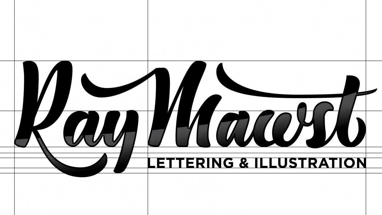 Ray Mawst - Lettering and Illustration - student project