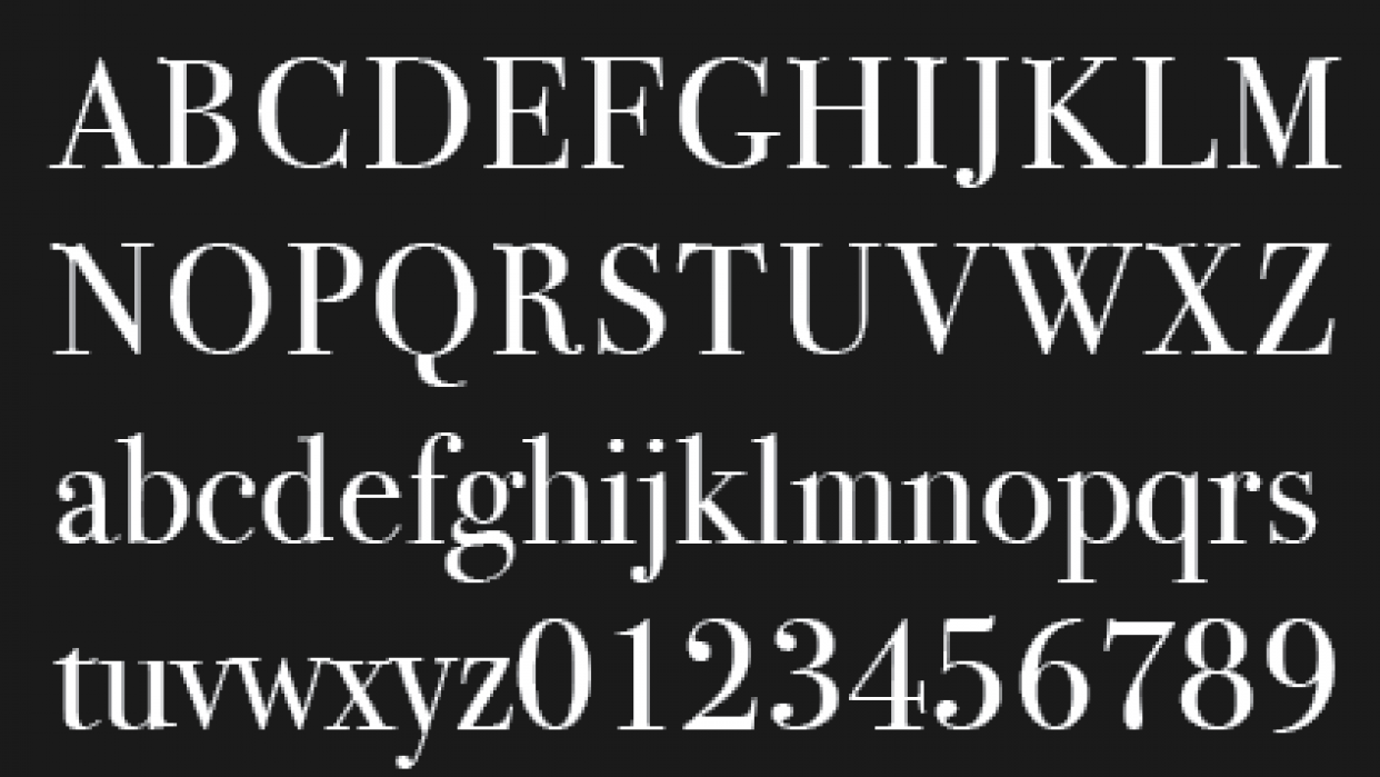 Typographical Heritage - student project