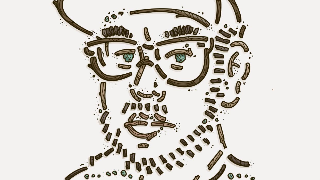 Nature Self-Portrait - student project