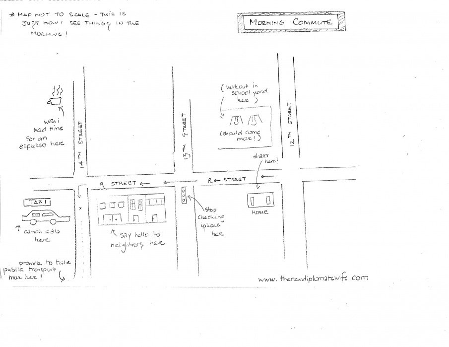 The Hand Drawn Commute... - student project