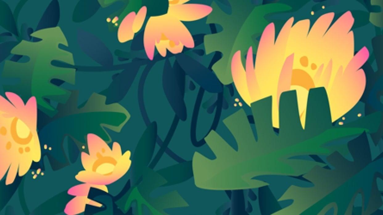 Garden pattern - student project