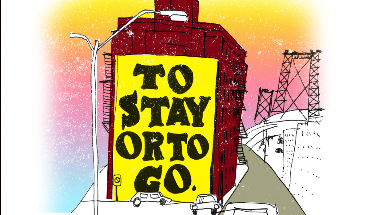 To Stay Or To Go? - student project