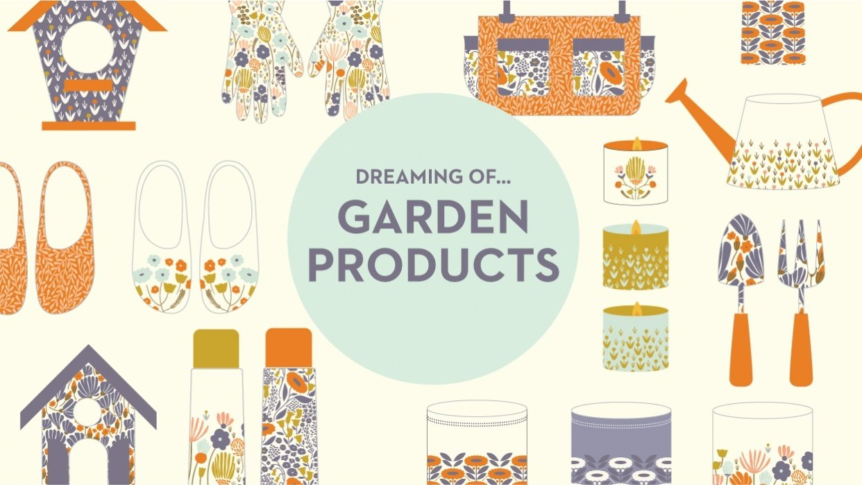 Dreaming about Garden Products - student project