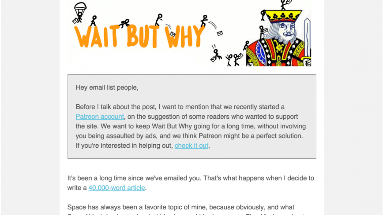 Best Read Me emails EVER - student project