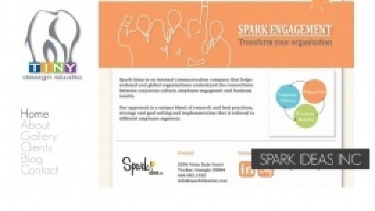 Tiny Design Studio - Website & Graphic Design Studio - student project