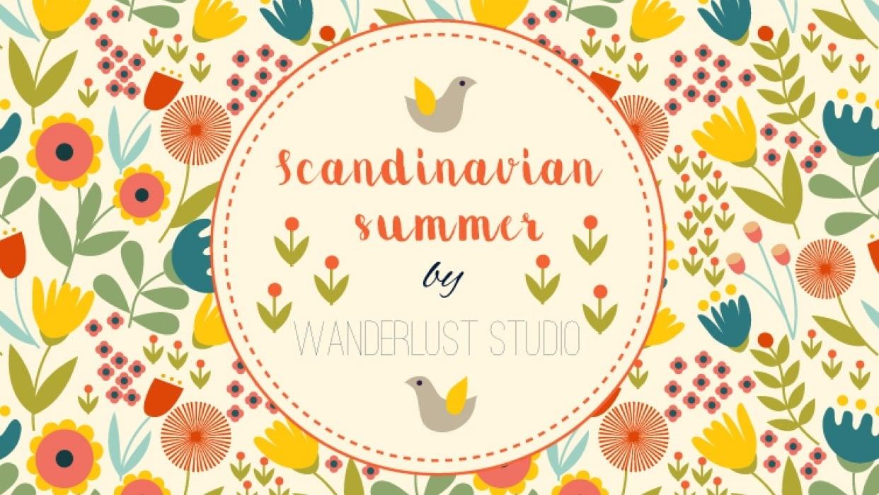 Scandinavian Summer - student project