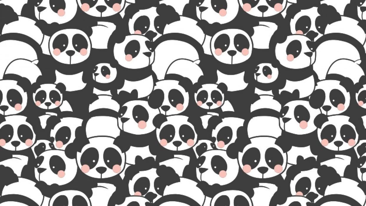Pandamonium fabric pattern - student project