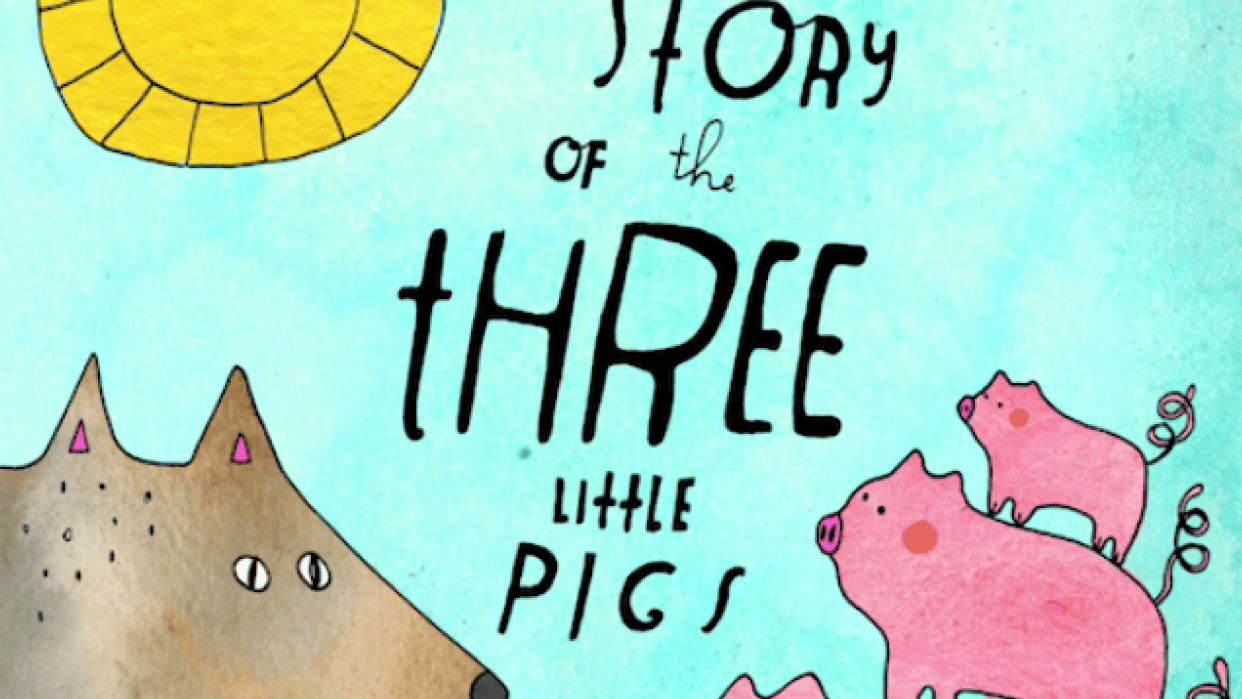 The Story of the Three Little Pigs - student project