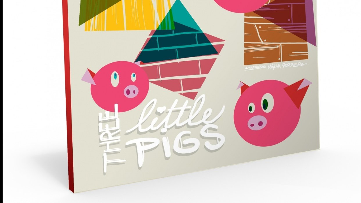 Illustration in Practice - Three Little Pigs project - student project