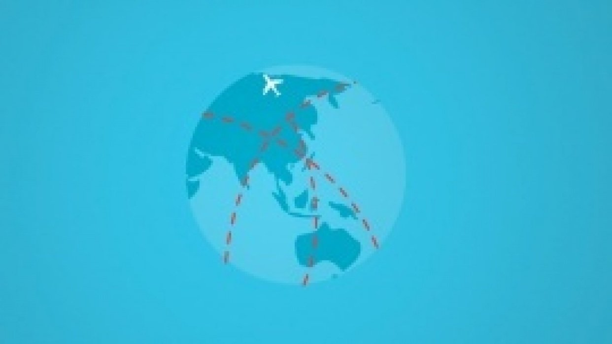 Pan Am intro credits - student project