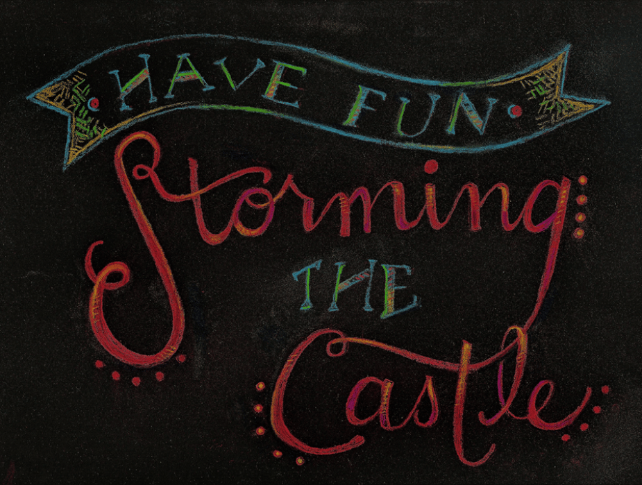 Have fun storming the castle - w/FINAL art! Feedback welcome!! - student project