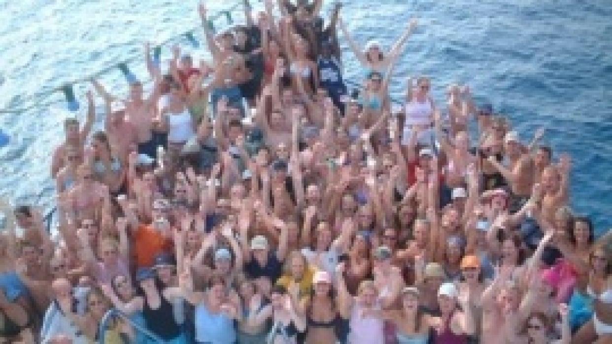 Figawi Booze Cruise Landing Page - student project