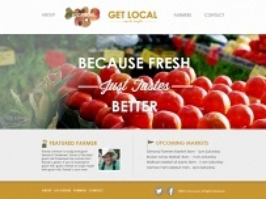 Get Local - student project