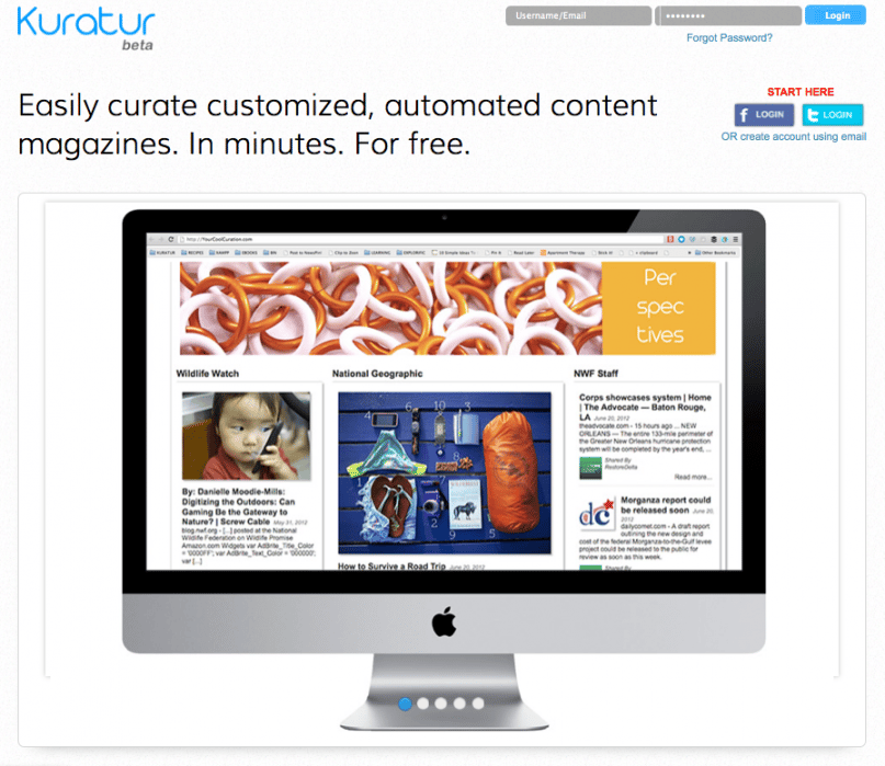 Your blog just got a 24/7 content marketer for free.  - student project