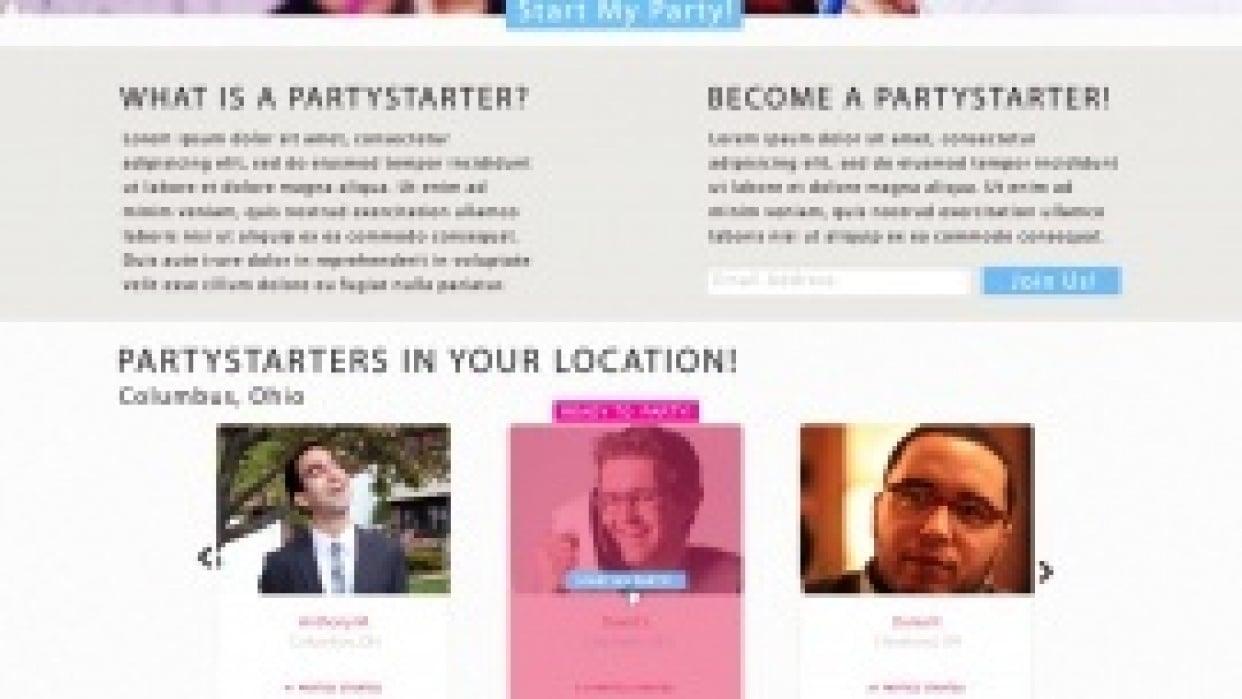 James Abels | Partystarters - student project