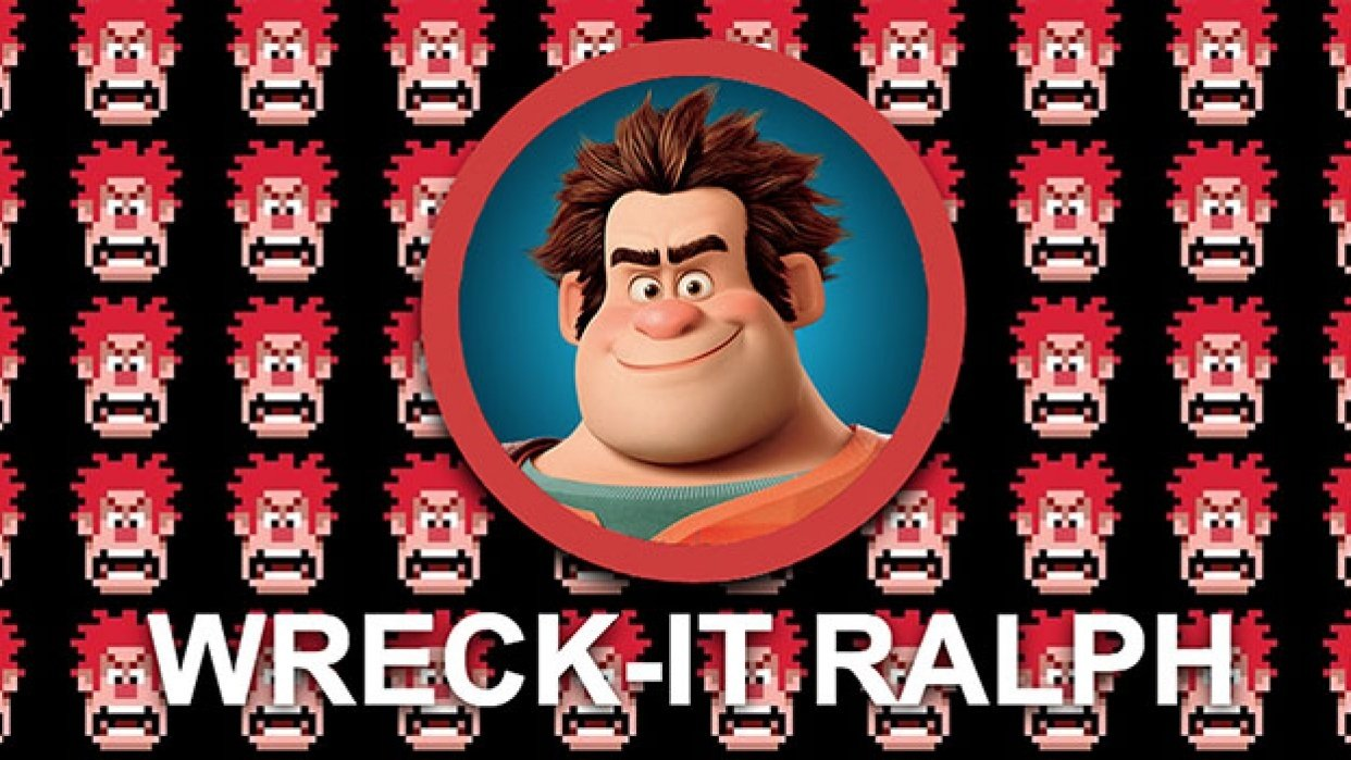 Wreck-It Ralph's website - student project