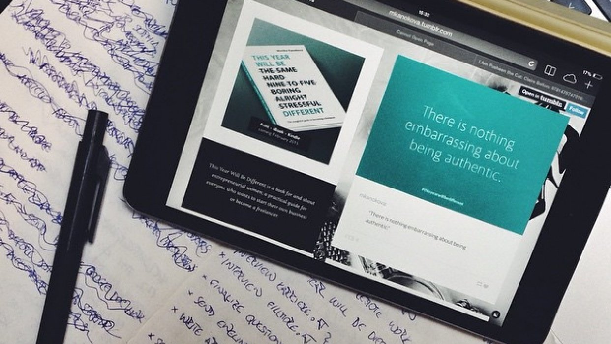 Positioning a publishing business for freelancers.  - student project