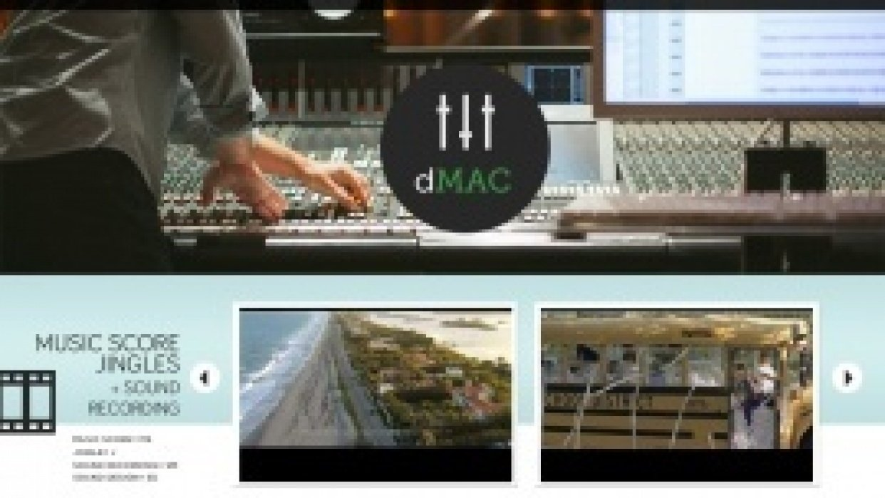 UPDATED: A Recording Engineer's Website - student project