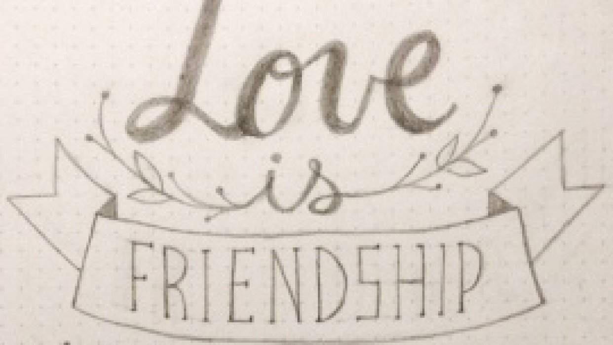 Love is friendship set to music. - student project
