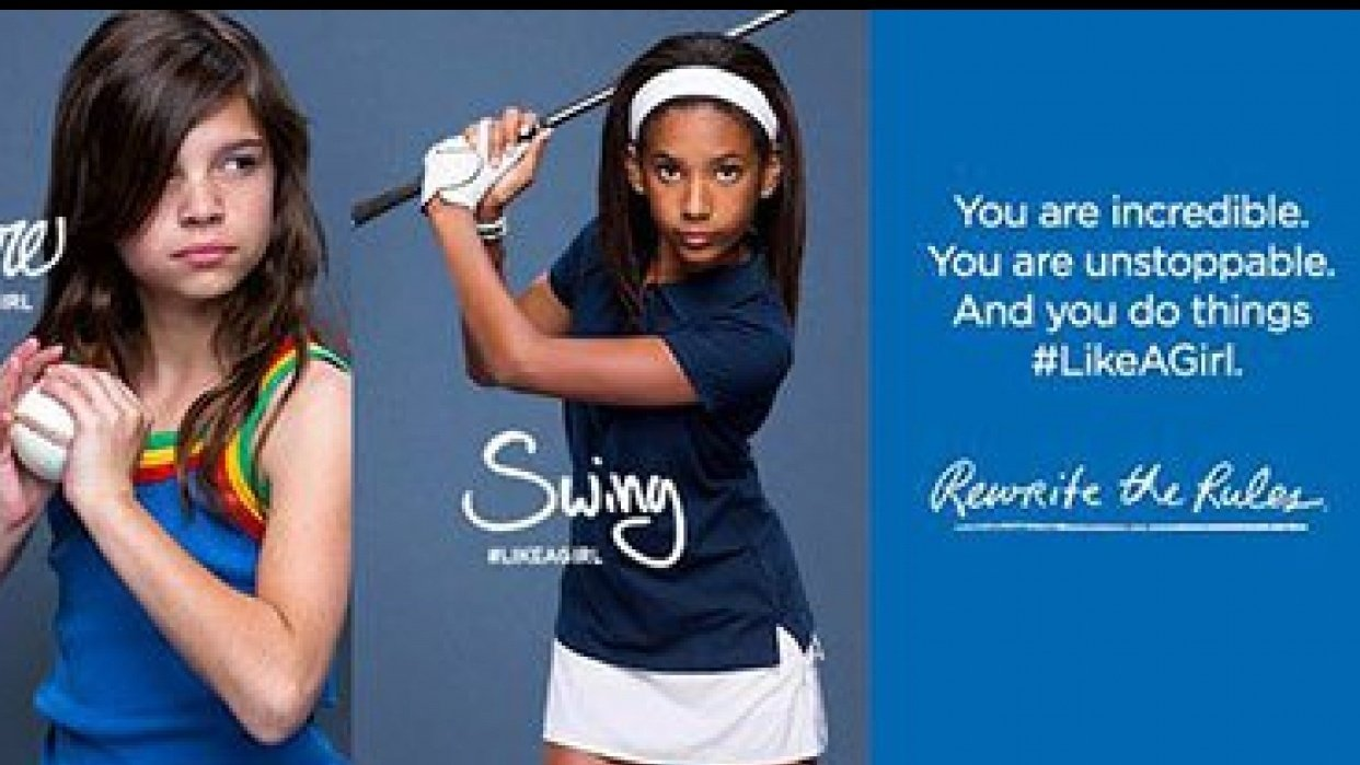 #LikeAGirl Campaign - student project