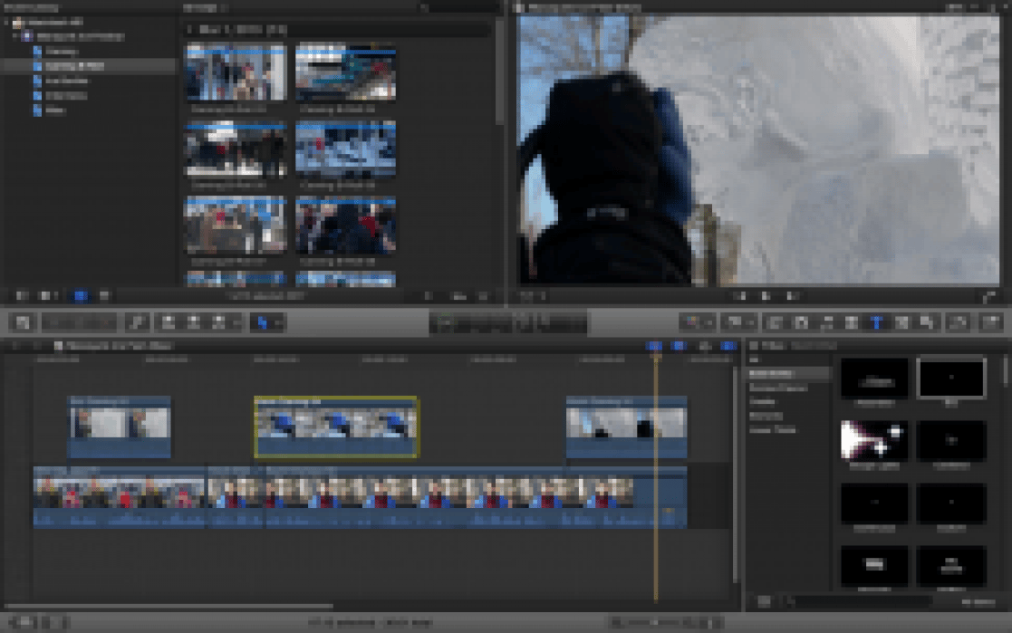 Manayunk Ice Festival - 30 Sec Rough Cut - student project