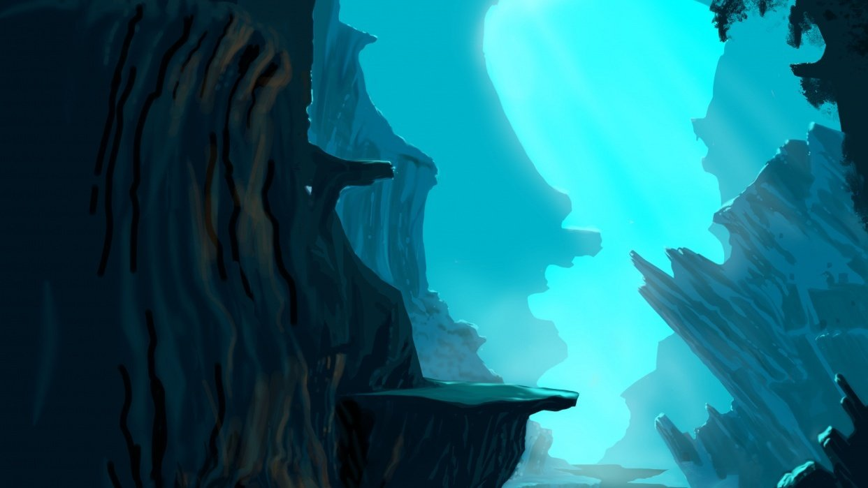 blue cave 2 - student project