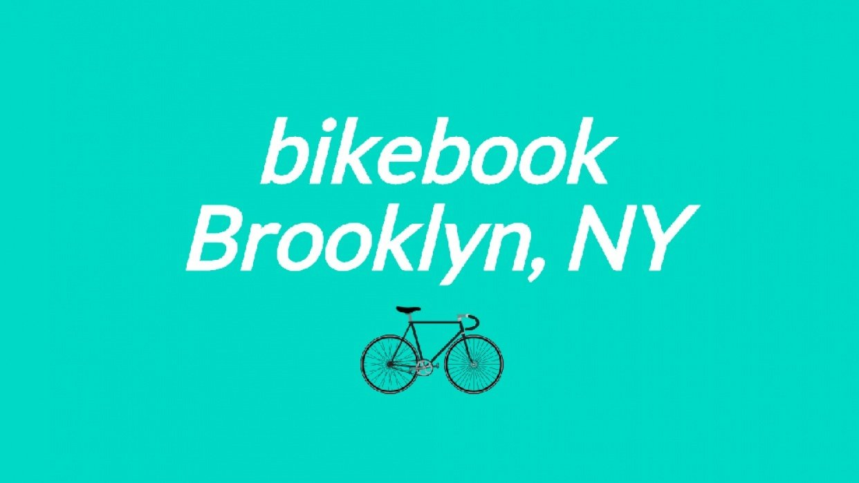 Playing with Bikebook typography  - student project
