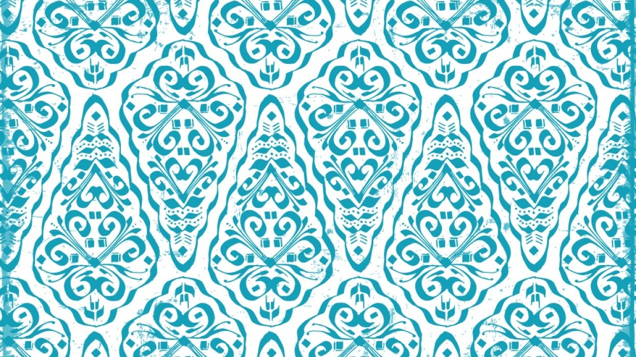 Calligraphic Motif for Pattern - student project