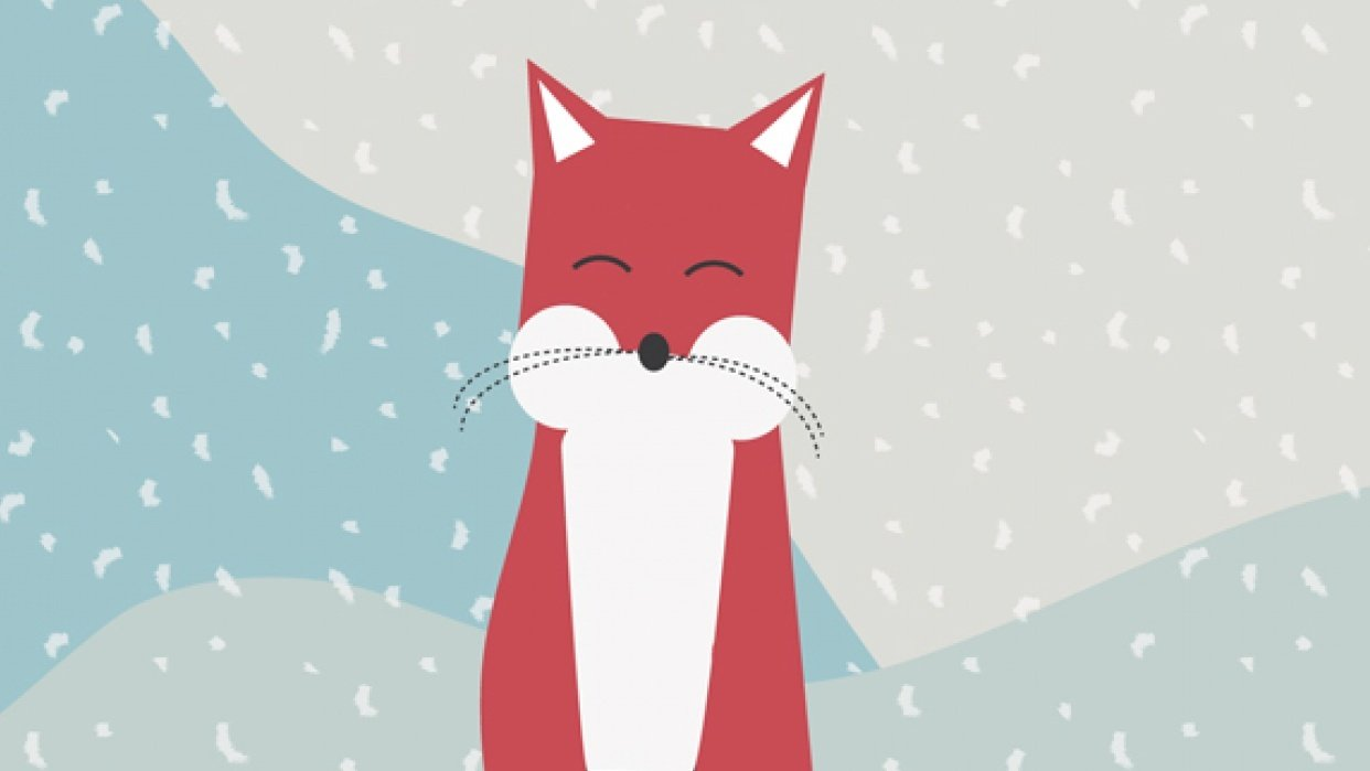 Foxy Christmas - student project