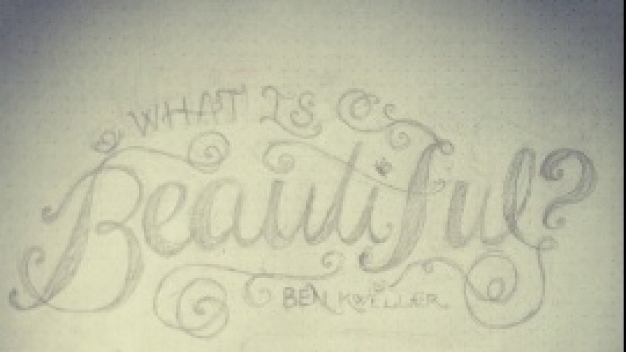 what is beautiful? - student project