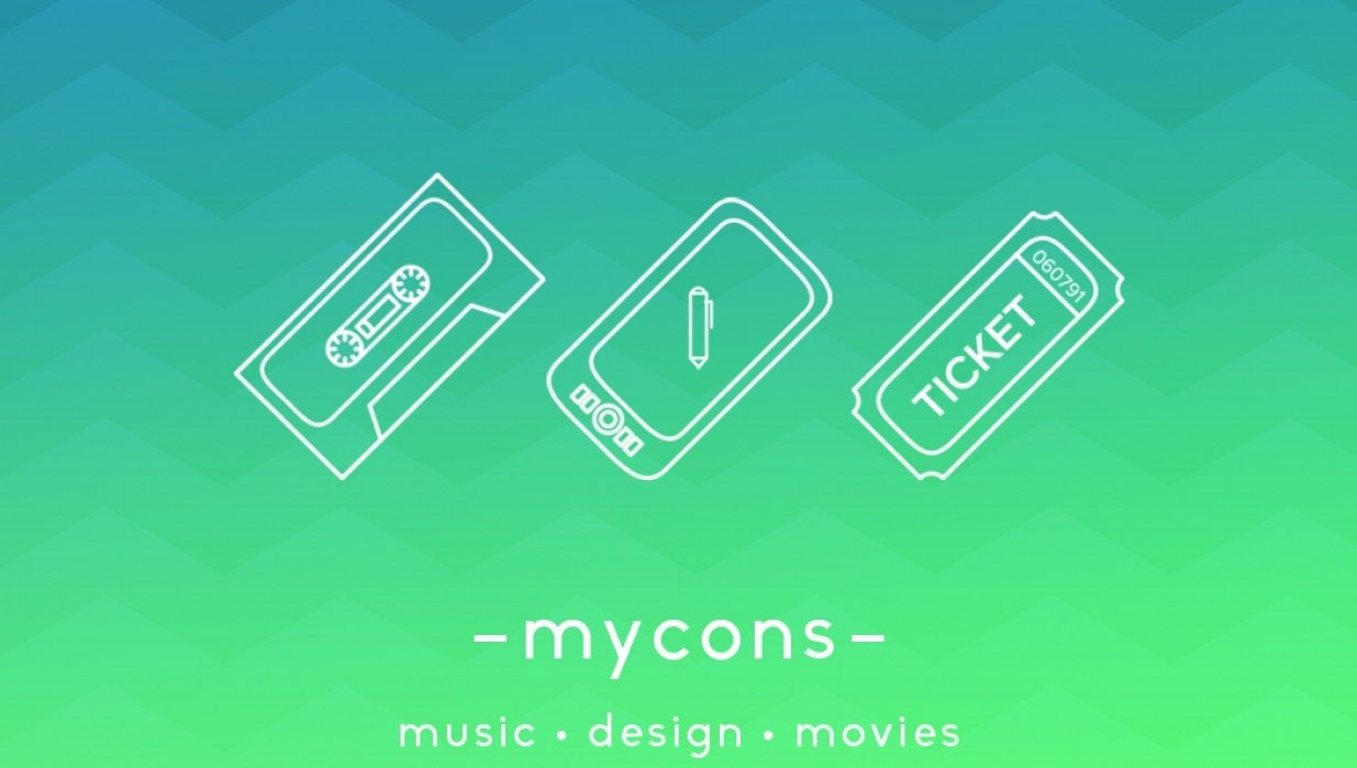 mycons - personal icons - student project