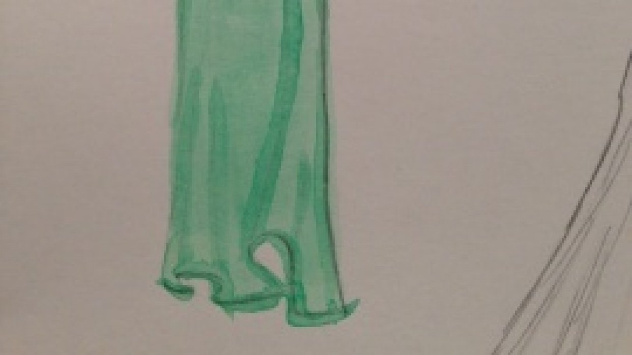 WATERCOLOR -- Dresses that Inspire - student project