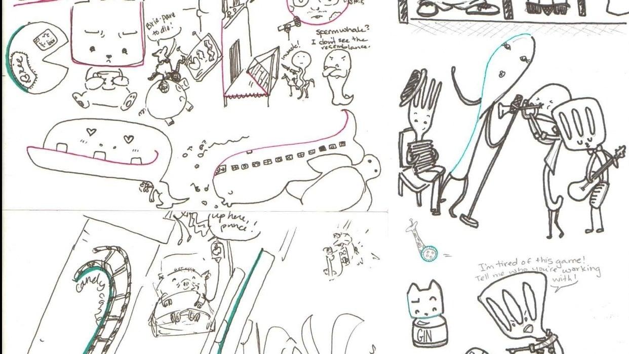 Doodlesheet - student project