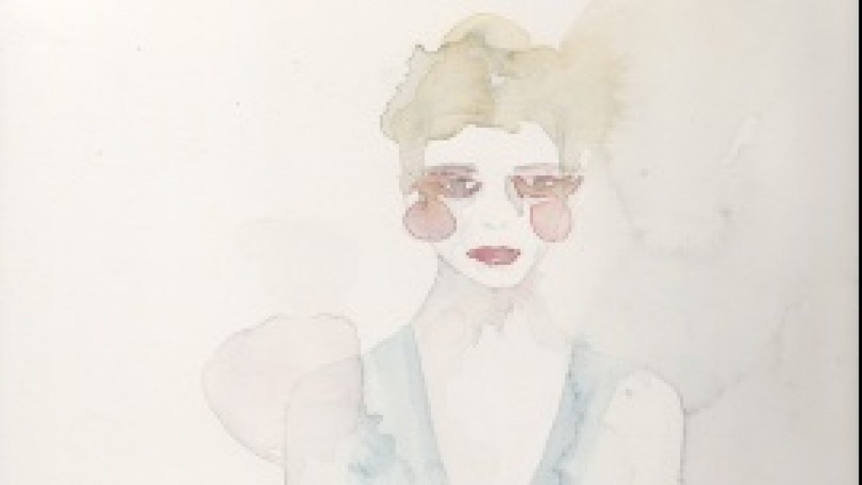 WATERCOLOR :: SKETCH :: Mystery & Intrigue - student project
