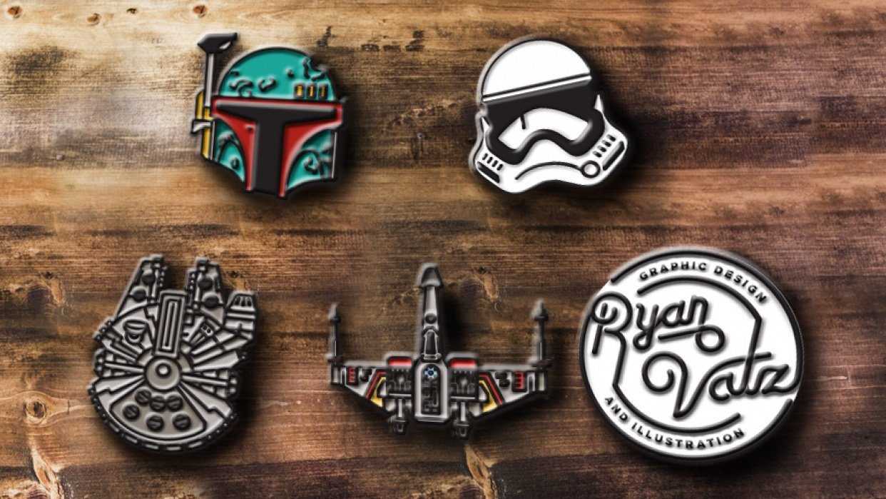STAR WARS! and stuffs... - student project