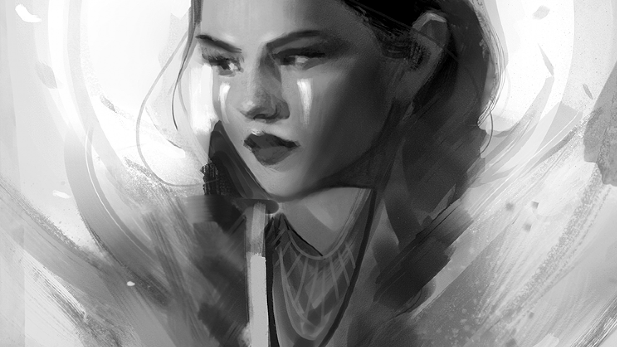 Digital Painting - student project