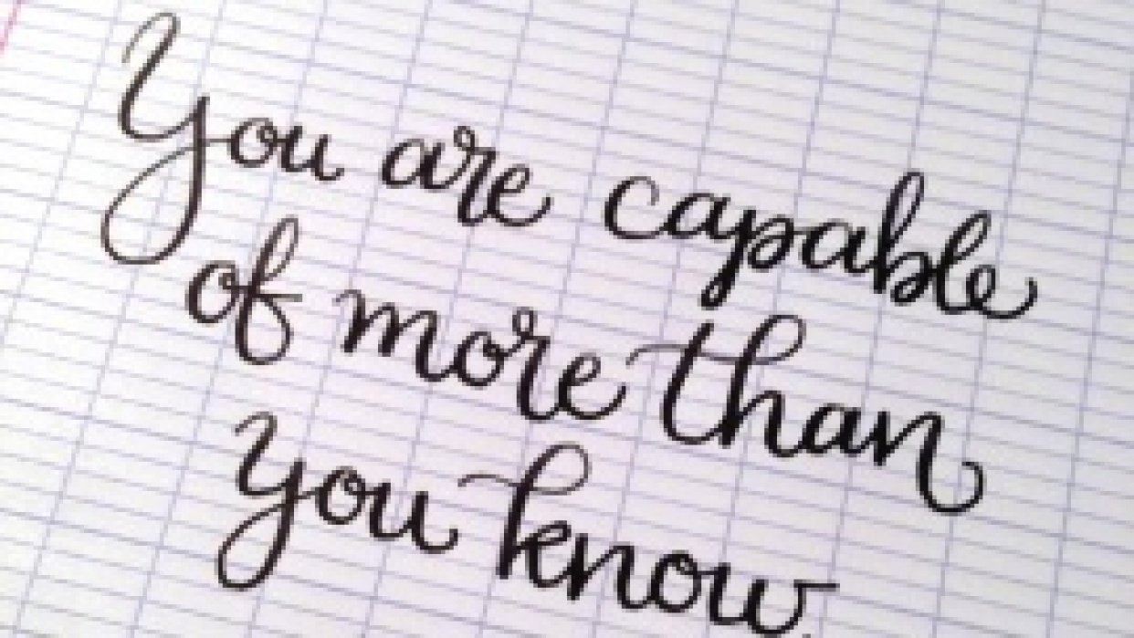 More than you know - student project